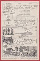 Service De Santé En Campagne. Première Guerre Mondiale. Illustration Louis Bombled. Larousse 1931. - Historische Dokumente