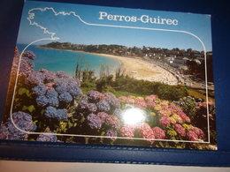 CPM CPSM COTE D' ARMOR  PERROS GUIREC  LA PLAGE DE TRESTRAOU - Perros-Guirec