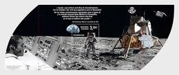 Spain 2019 - 50th Anniversary Of The First Moon Landing - Mint - Miniature Sheet - 2011-... Gebraucht