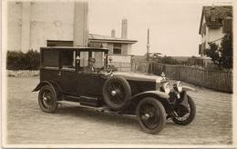 Aviation - Voiture-taxi De L'aérodrome De Lausanne-Blécherette - 1927 - Rarissime - Aérodromes
