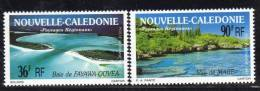 NOUVELLE CALEDONIE - 1991 - PA N° 276/7  ** Paysages - Non Classificati
