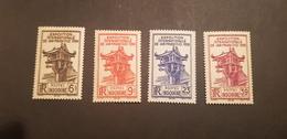 Indochine Yvert 205-208** - Indochina (1889-1945)