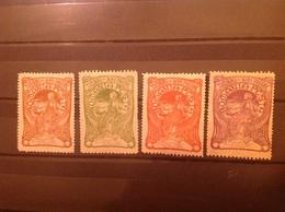 Romania 1906 Welfare Fund Mint SG 481-4 Sc B1-4 Mi 161-4 - 1881-1918: Charles I