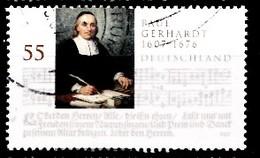 Bund 2007  Mi.nr.:2592 Geburtstag Von Johann Christian Senckenberg  Gestempelt / Oblitérés / Used - Usados