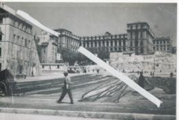 1131 MARSEILLE HOTEL DIEU PECHEURS AVE LEURS FILETS 1938 TOP Tirage Photo Dimension 110mm X 150mm - Old Port, Saint Victor, Le Panier