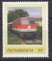 ÖSTERREICH 2007 ** Eisenbahn, Train ÖBB 1046 - PM Personalized Stamp MNH - Trenes
