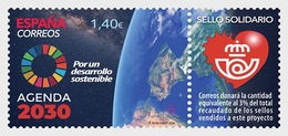 Spain 2019 - Solidarity Stamp, UN 2030 Agenda Mnh - 2011-... Unused Stamps