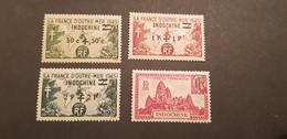 Indochine Yvert 296-299* - Indochina (1889-1945)