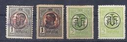 160026764   RUMANIA  YVERT    Nº  258A/B  MH/USED - 1881-1918: Charles I