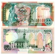 BILLET SOMALIE 500 SHILIN - Somalie