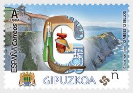 Spain 2019 - 12 Months, 12 Stamps - Gipuzkoa Mnh - 2011-... Ungebraucht