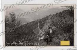 1928 CAPOVALLE ROCCHETTA Passo Cavallino Della Fobbia Fobia Tremalzo Brescia Val Degagna Foto - Luoghi