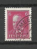 Estland Estonia 1937 O HÄÄDEMEESTE - Estland