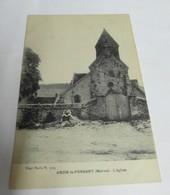 ARCIS Le PONSART  51  L' église 1917 - Autres Communes