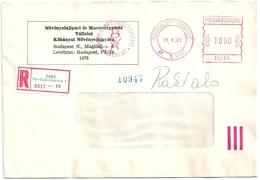 B4119 Hungary Meter Stempel Economy Company Chemistry Registered - Fabbriche E Imprese