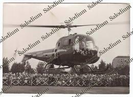 1959 - CERVIA - Madonna Di Fatima Pellegrina - Elicottero G Agusta Helicopter - Ravenna - Santino Holy Card - Luoghi