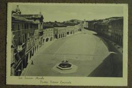 SAN SEVERINO MARCHE - 1940 -  PIAZZA VITTORIO EMANUELE  -   -BELLA - Italie