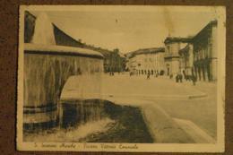 SAN SEVERINO MARCHE - 1942   -PIAZZA VITT. EMANUELE  ANIMATA  -   -BELLA - Italie