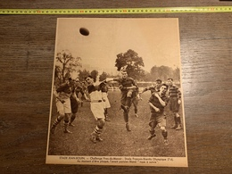 1934 M RUGBY STADE JEAN BOUIN STADE FRANCAIS BIARRITZ OLYMPIQUE - Vieux Papiers