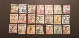 Kouang Tcheou Yvert 52-72* - Kouang-Tcheou (1906-1945)