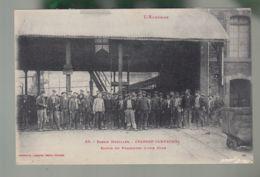 CPA (12) Cransac-Campagnac - Sortie Du Personnel D'une Mine - Francia