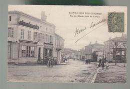 CPA (33) Saint-Ciers-sur-Gironde  - Rue Du Marais Prise De La Place - France
