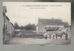 CPA (53) Saint-Gemme-le-Robert   -  Ferme Du Plessis - Francia