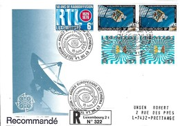 Luxembourg  -  FDC  -  16.juin 1988  -  50 Ans De Radiodiffusion RTL Luxembourg - Lettre Recommandé - FDC