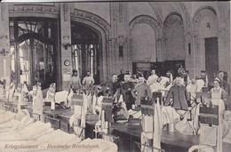 AK Wilna Vilnius - Kriegslazarett - Russische Reichsbank - Deutsche Soldaten - Verwundete - Feldpost 1916  (46469) - Litauen