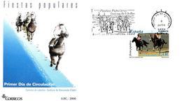 """Espagne FDC 2006 """" Course De Chevaux, En Cádiz """" - Horses"""