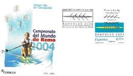 """Espagne FDC 2004 """" Championnat Du Monde D' Aviron """" - Roeisport"""