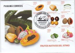 Panama 2019, FDC, Früchte, Kaktus / Panama 2019, FDC, Fruits, Cactus - Sukkulenten