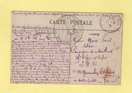 Hopital Temporaire Municipal - St Vincent De Paul - Landes - 11-9-1915 - Marcophilie (Lettres)