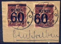 MEMEL  - 41° - TYPE SEMEUSE - Memel (1920-1924)