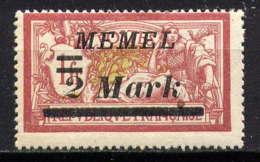 MEMEL  - 28** - TYPE MERSON - Memel (1920-1924)