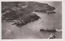 CPA Port-Vendres - Vue Aérienne De L'entrée Du Port - Le Courrier D'Algérie Rentrant Dans La Passe -... Le Bateau Pilote - Port Vendres