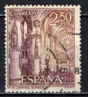 SPAGNA - 1965 - CATTEDRALE DI BURGOS - USATO - 1961-70 Oblitérés