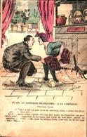 Humour Paysan, JARRY - 127 Nouveau Sport, Scatologie Curé Chat Noir (en L'état - Illustrateurs & Photographes