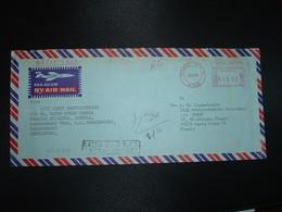 LR Pour La FRANCE EMA à 9.50 Du 2 4 85 DHAKA G.P.O. N.P.O. + Griffe DASSA G.P.O. N.P.O. GACCA DISTRICT - Bangladesh