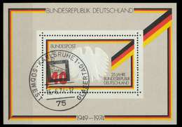 BRD BLOCK KLEINBOGEN 1949 1989 Block 10 Zentrisch Gestempelt X7DF5CE - Blocchi