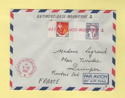 Batiment Base Maurienne (en Rouge) - 11-10-1966 - Postmark Collection (Covers)