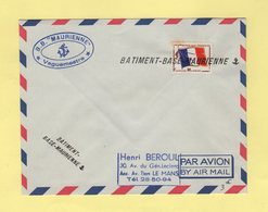 Batiment Base Maurienne - Timbre FM - Postmark Collection (Covers)