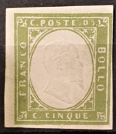 SARDINIA 1862 - MNG - Sc# 10a - 5c - Sardaigne