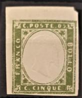 SARDINIA 1860 - MLH - Sc# 10b - 5c - Sardaigne