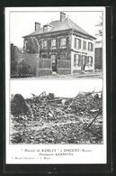 CPA Sinceny, Manoir De Kerlys, Gebäude Vor Et Nach Der Zerstörung - France