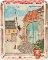 Sous Bock- Brasserie Stella-Artois 1978 Jaar Van Het Dorp - Année Du Village - Appelterre-Eichem - Bierviltjes