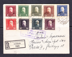 SC -13-57. R- LETTER FROM LUBLIN TO PRAHA. 1917 YEAR. - ....-1919 Provisional Government