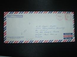 LR POUR LA FRANCE EMA à 3.45 Du 29 III 85 U.W.I. TRINIDAD + THE UNIVERSITY OF THE WEST INDIES - Trinité & Tobago (1962-...)