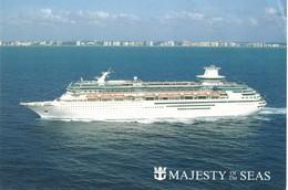 Vintage Royal Caribbean Cruise Line The Majesty Of The Seas - Passagiersschepen
