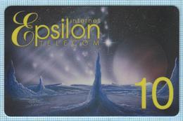 UKRAINE / Prepaid Internet Card / Epsilon Telecom 1999-2003. - Andere